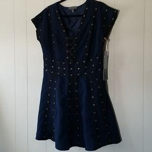 Zac Posen Black n Blue Dress
